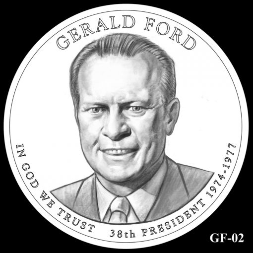 2016 Presidential $1 Coin Design Candidate GF-02