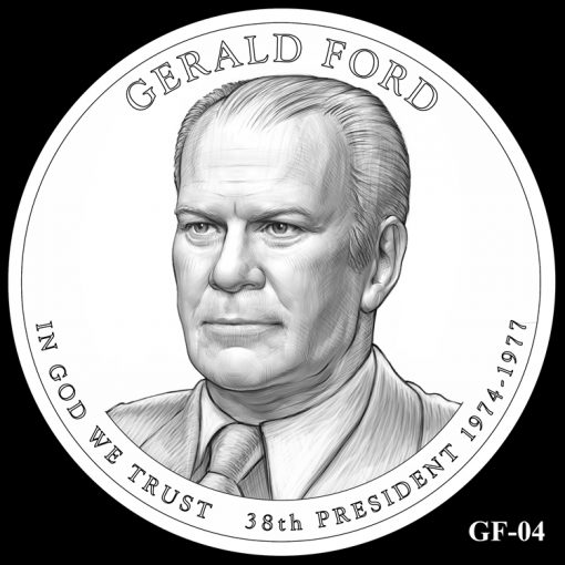2016 Presidential $1 Coin Design Candidate GF-04