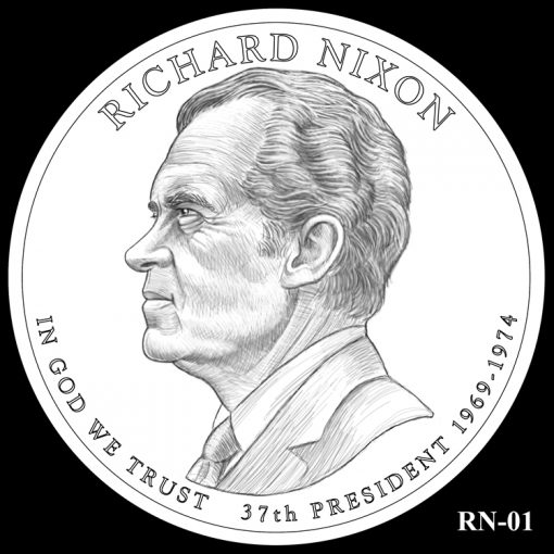 2016 Presidential $1 Coin Design Candidate RN-01