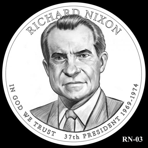 2016 Presidential $1 Coin Design Candidate RN-03