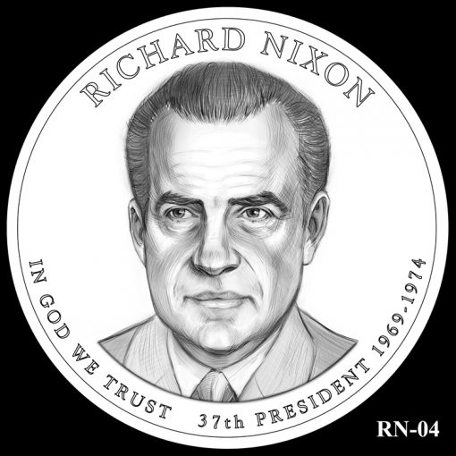 2016 Presidential $1 Coin Design Candidate RN-04