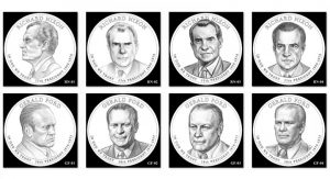 2016 Presidential $1 Coin Designs Feature Nixon and Ford