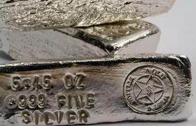 5.45 Oz Fine Silver Bars