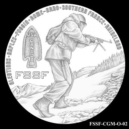 First Special Service Force Design Candidate FSSF_CGM_O_02