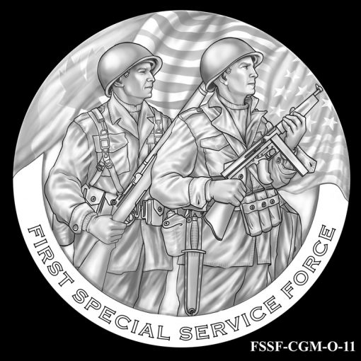 First Special Service Force Design Candidate FSSF_CGM_O_11
