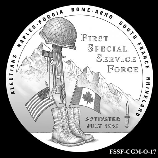 First Special Service Force Design Candidate FSSF_CGM_O_17