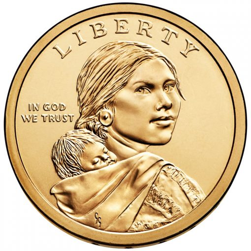 Obverse of Native American $1 Coins