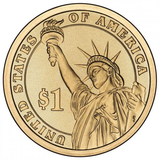 Reverse of Presidential $1 Coins