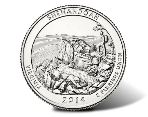 Shenandoah National Park Quarter