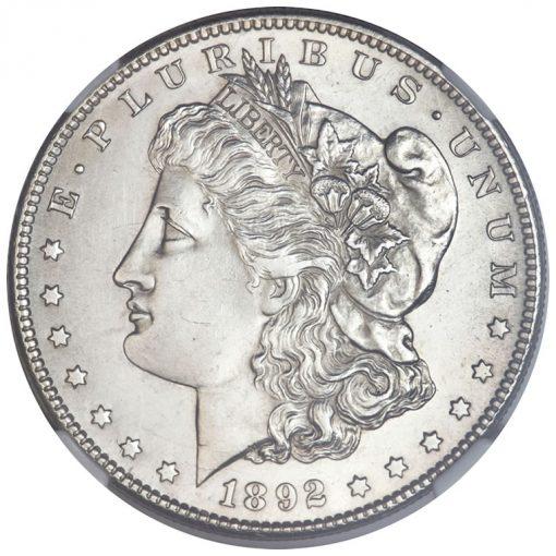 1892-S Silver Dollar - Obverse