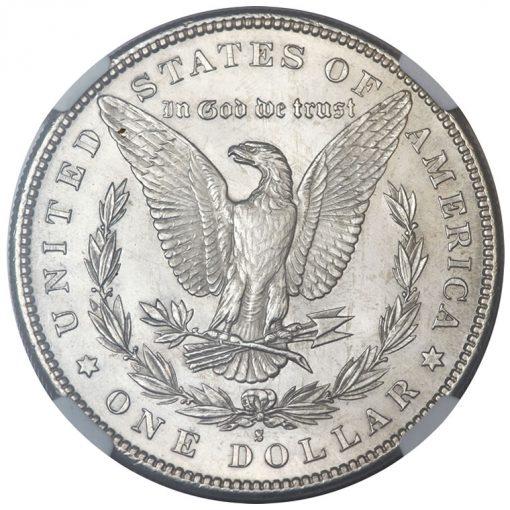 1892-S Silver Dollar - Reverse