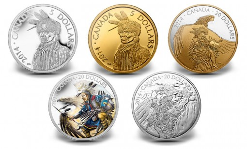 2014 Legend of Nanaboozhoo Canadian Coins