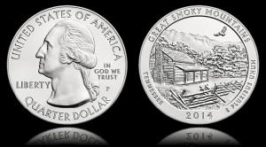 2014-P Great Smoky Mountains 5 Oz Silver Coin Nears Sellout