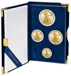 2014 Proof American Eagle Four-Coin Set