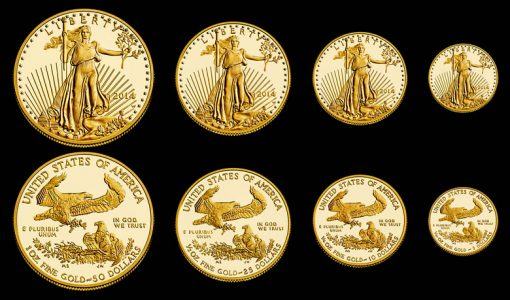2014-W Proof American Gold Eagles