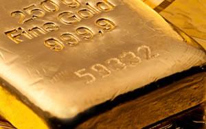 250 g Fine Gold Bar