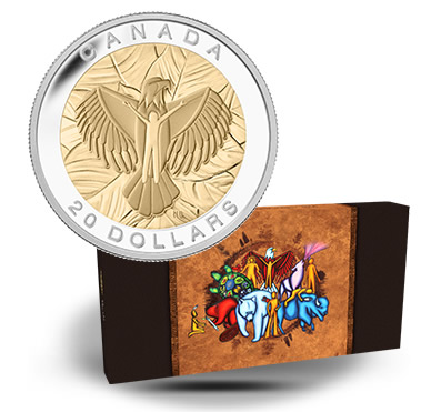 Case for the Seven Sacred Teachings Canadian Silver Coins