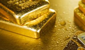 Gold Bullion, five bars in total
