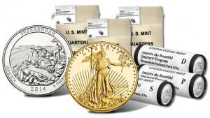 Shenandoah Park Quarter Products and 2014 Proof Gold Eagle