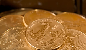Gold, Silver Up on Week; US Mint Gold Coins Surge
