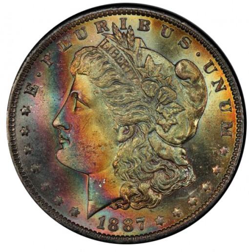 1887-O $1 PCGS MS65+ CAC - Obverse