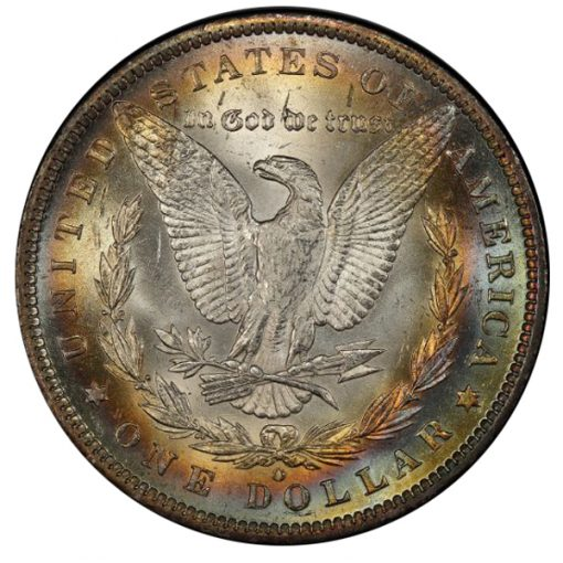 1887-O $1 PCGS MS65+ CAC - Reverse