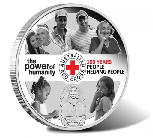 2014 100th Anniversary of Australian Red Cross Silver Proof Coin