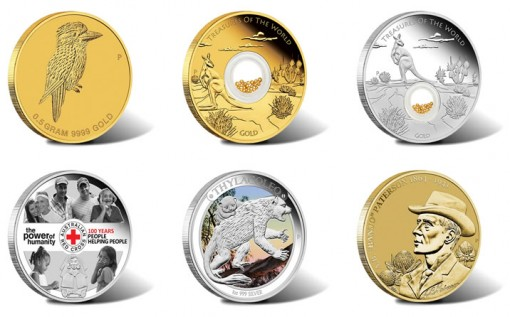 2014 Australian Silver and Gold Coins for May