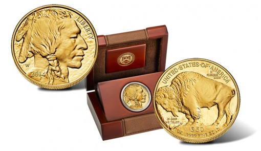 2014 Proof American Buffalo Gold Coin and Presentation Case
