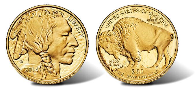 2014 Proof Gold Buffalo