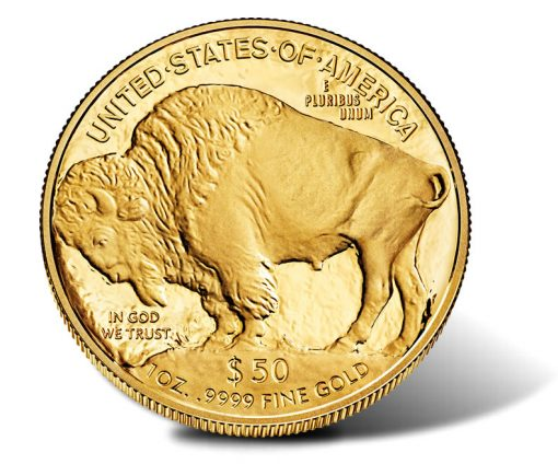 2014-W $50 Proof American Buffalo Gold Coin - Reverse