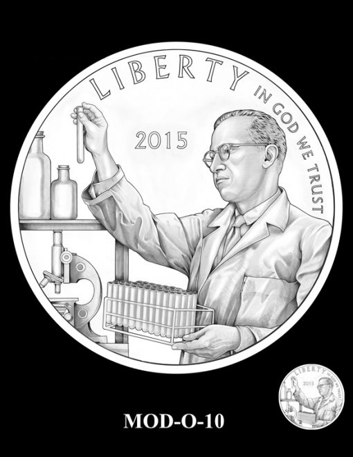 2015 March of Dimes Commemorative Coin Design Candidate MOD-O-10