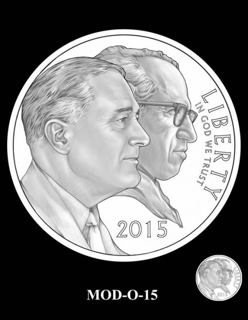 2015 March of Dimes Commemorative Coin Design Candidate MOD-O-15