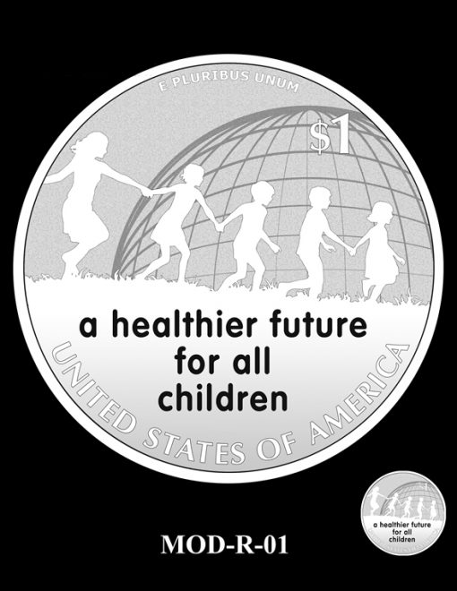 2015 March of Dimes Commemorative Coin Design Candidate MOD-R-01