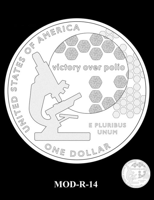 2015 March of Dimes Commemorative Coin Design Candidate MOD-R-14