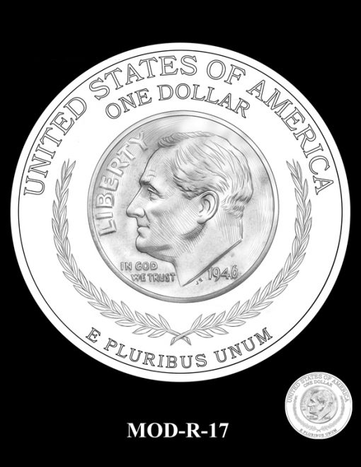 2015 March of Dimes Commemorative Coin Design Candidate MOD-R-17