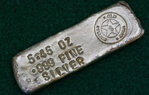 5.46 oz silver bar