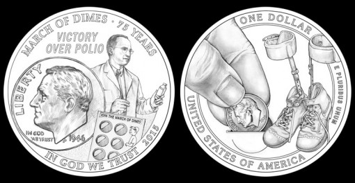 CFA Recommended Designs for the 2015 March of Dimes Silver Dollar