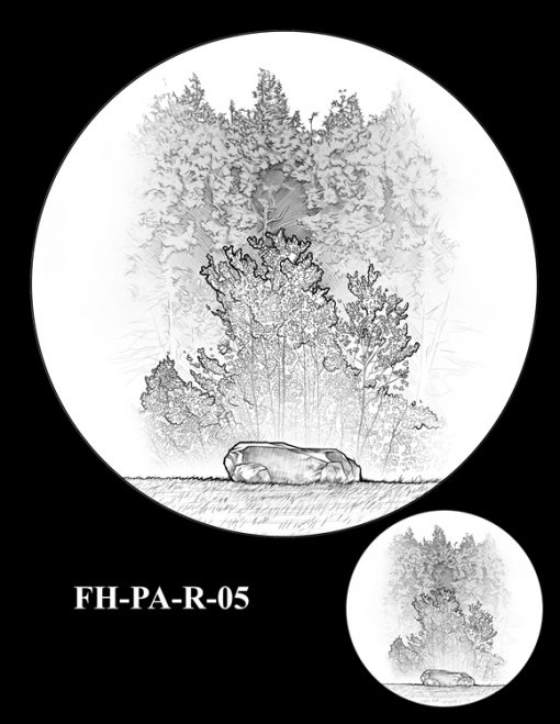 Fallen Heroes Flight 93 Medal Design Candidate FH-PA-R-05