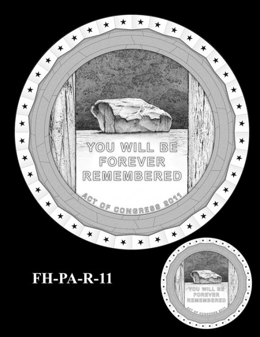 Fallen Heroes Flight 93 Medal Design Candidate FH-PA-R-11