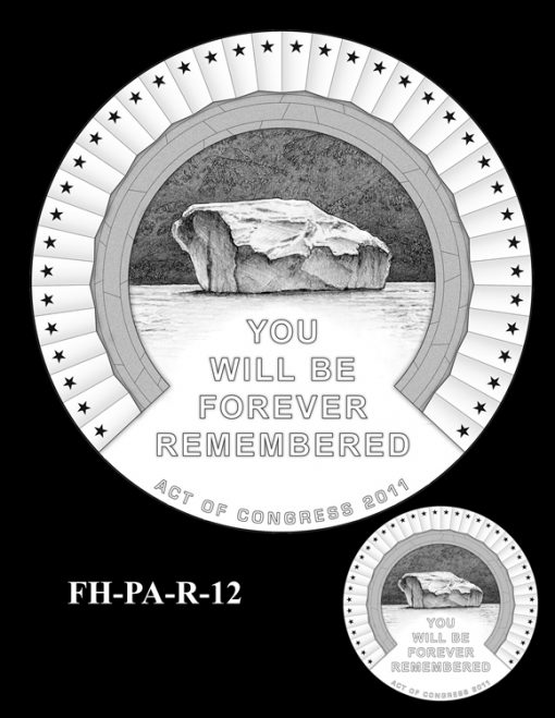 Fallen Heroes Flight 93 Medal Design Candidate FH-PA-R-12