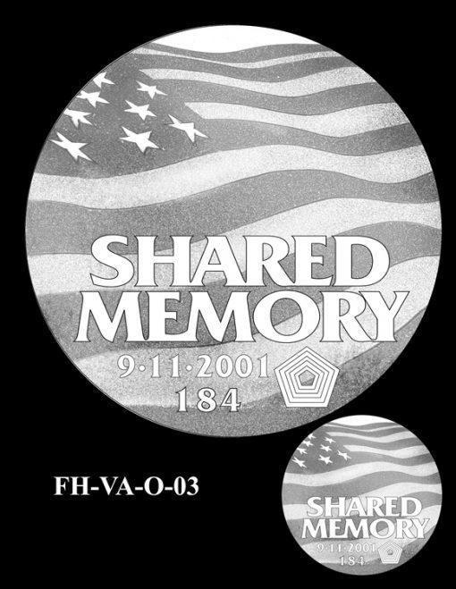 Fallen Heroes Pentagon Memorial Medal Design Candidate FH-VA-O-03