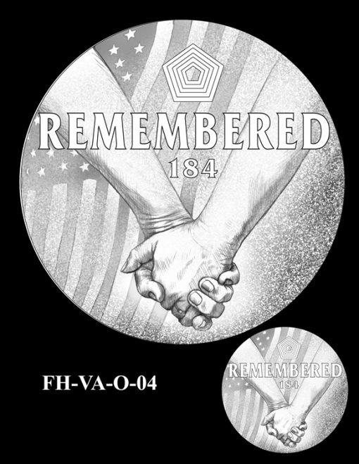 Fallen Heroes Pentagon Memorial Medal Design Candidate FH-VA-O-04