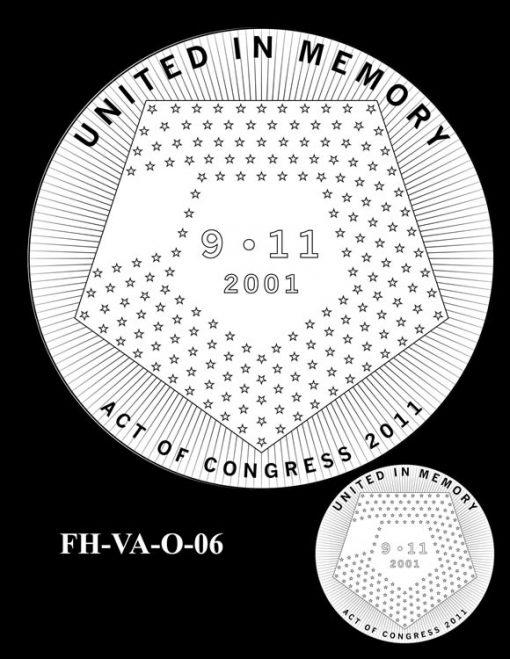 Fallen Heroes Pentagon Memorial Medal Design Candidate FH-VA-O-06
