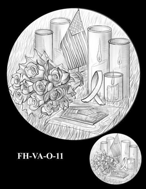 Fallen Heroes Pentagon Memorial Medal Design Candidate FH-VA-O-11