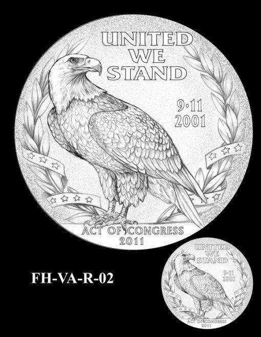 Fallen Heroes Pentagon Memorial Medal Design Candidate FH-VA-R-02