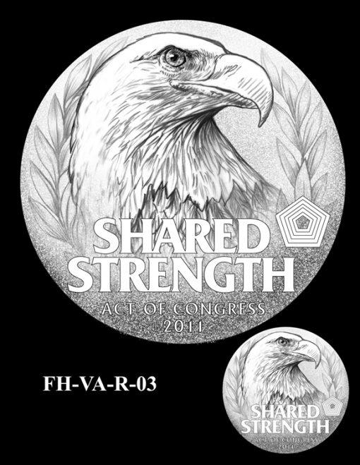 Fallen Heroes Pentagon Memorial Medal Design Candidate FH-VA-R-03