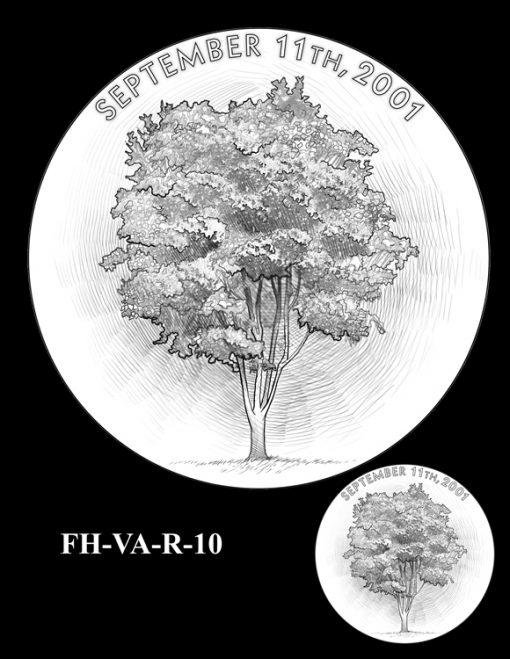 Fallen Heroes Pentagon Memorial Medal Design Candidate FH-VA-R-10