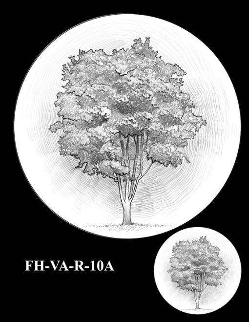 Fallen Heroes Pentagon Memorial Medal Design Candidate FH-VA-R-10A