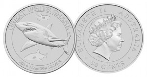 Great White Shark Silver Bullion Coin